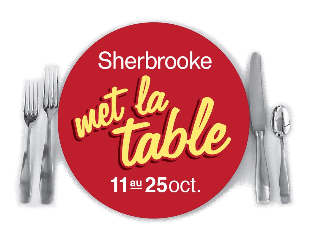 Sherbrooke met la table